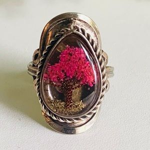 MAGDALIN & MARGARIE Peruvian Handcrafted Tree Ring